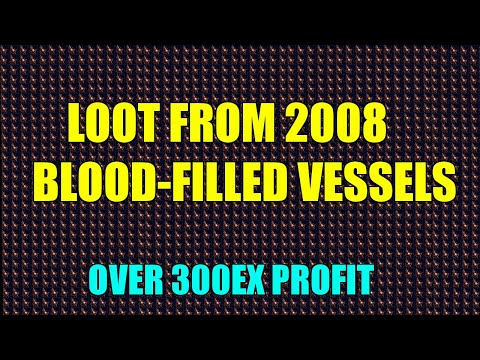 [POE 3.15]LOOT FROM 500+ MAPS WITH 4 BLOOD FILLED VESSELS (274 Ex Investment farming)
