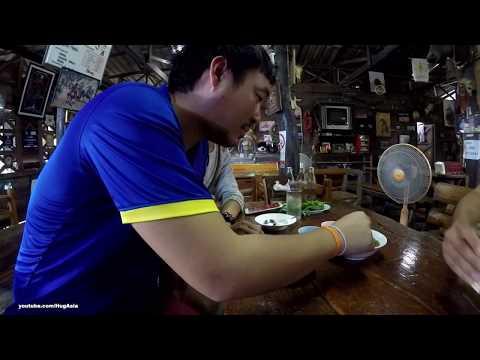 Northern Thailand food ร้านปู่สมจังหวัดน่าน