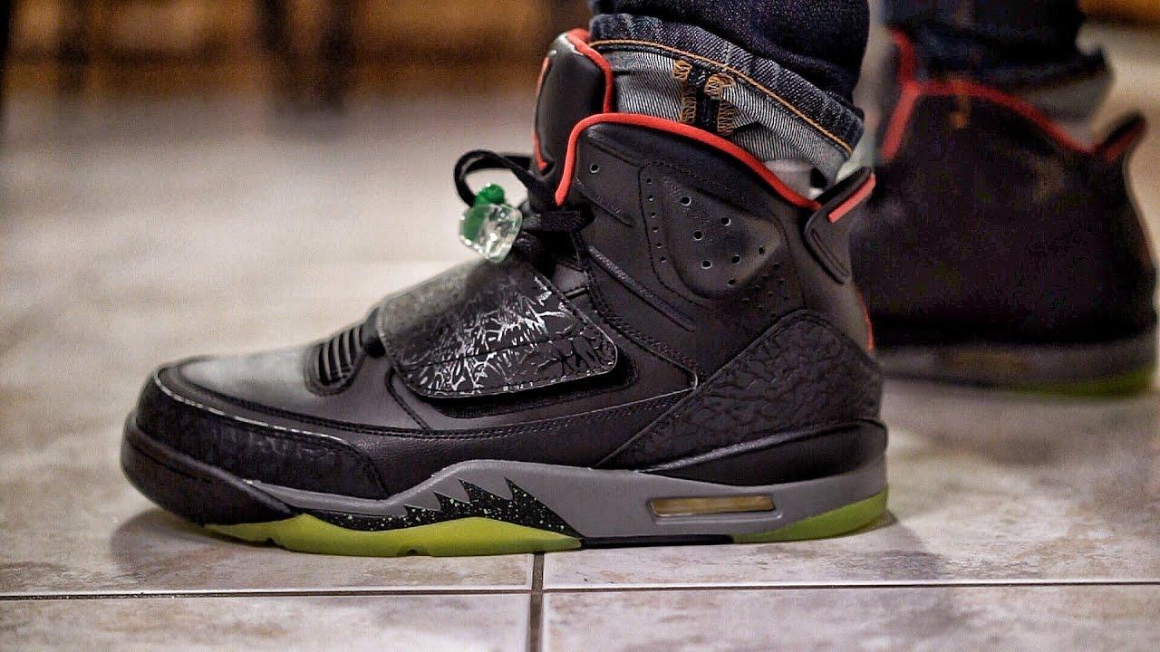 super cute 12753 fc013 Nike Air Jordan Son of Mars Marvin the Martian Detailed Sneaker Preview