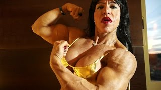 Claudia Macedo Pires, hot Brazilian muscle babe