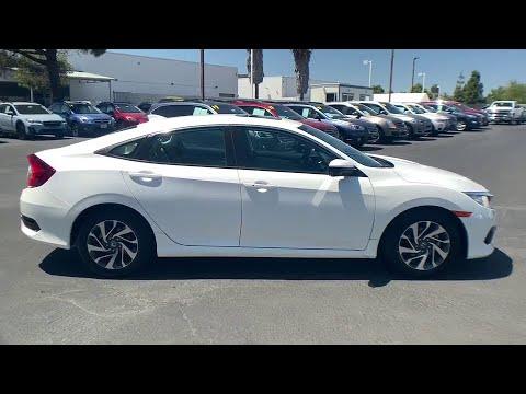 2017 Honda Civic San Luis Obispo, Paso Robles, Santa Maria, Piso, Bakersfield, CA 23989U