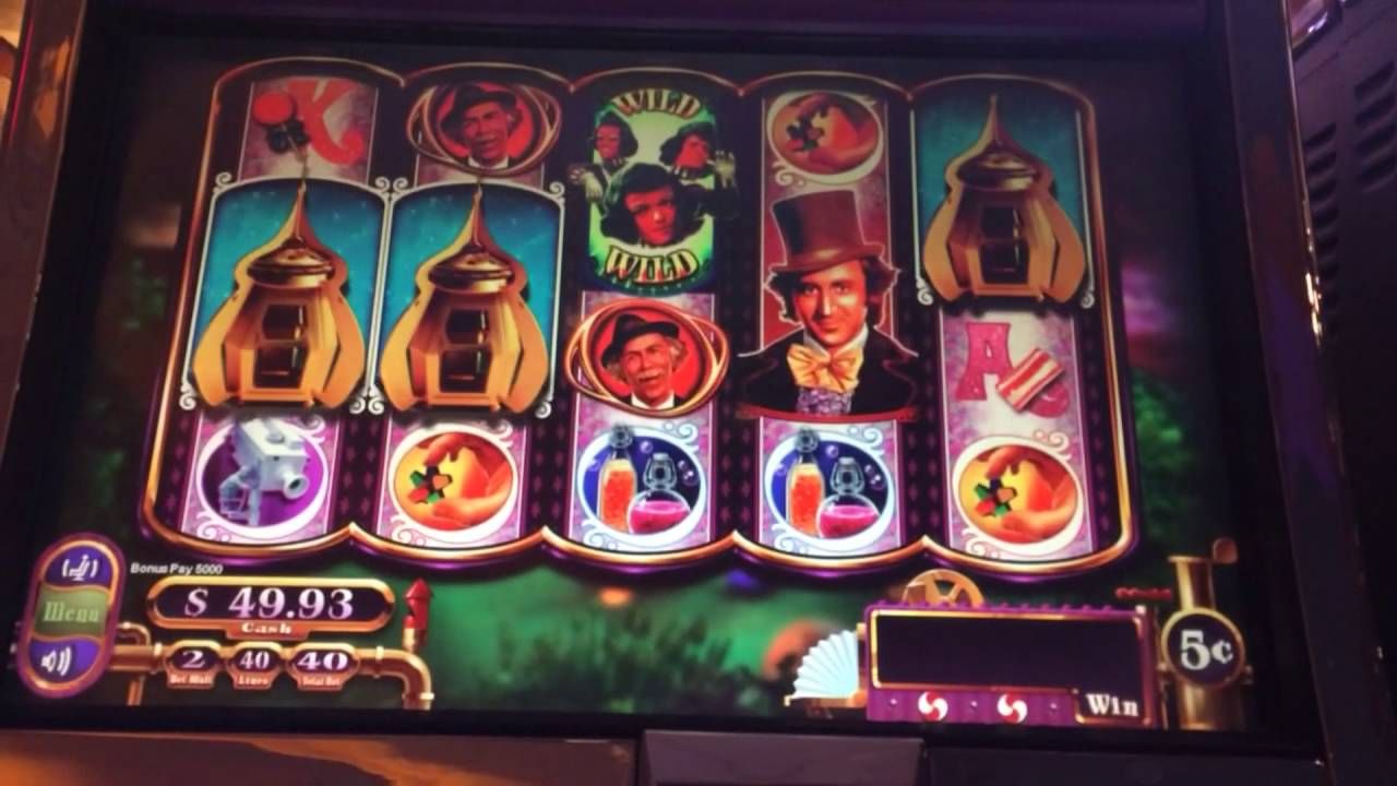 Willy wonka slot machine progressive