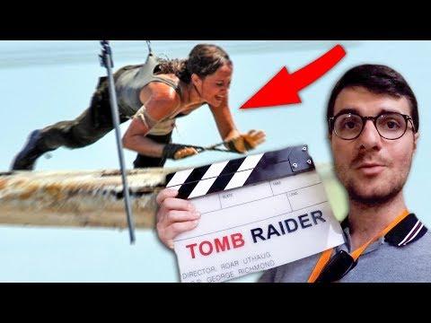JE VLOG SUR LE TOURNAGE D'UN GROS FILM ! (Tomb Raider )
