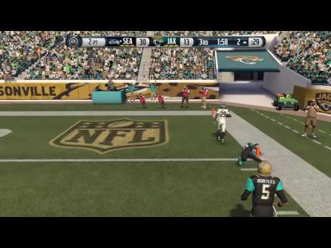 Madden 16 Defensive 2Pt Conversion: Earl Thomas takes it back