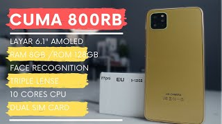 900 Ribuan desain mewah berasa IPHONE 6S PLUS, RAM 4GB ROM 64GB, USB type C - #Unboxing.
