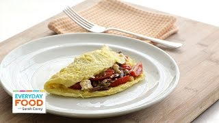 Mediterranean-style Omlette - Everyday Food With Sarah Carey