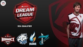 [DOTA 2] Tiger.DENDI Melawan SEA - Dreamleague Stockholm Major Season 11 - Open Qualifier #1 [LIVE]