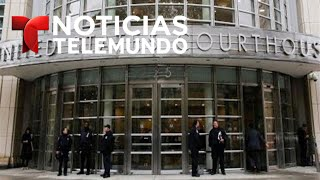 Primer día del juicio de Joaquín 'El Chapo' Guzmán | Noticias Telemundo