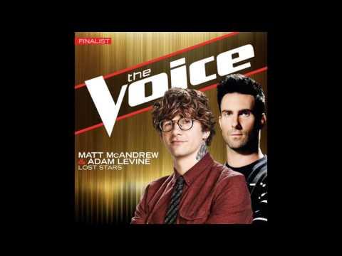 Matt McAndrewAdam LevineLost StarsStudio VersionThe Voice 7 22