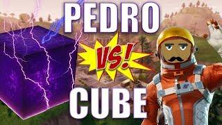 Pedro DESTROYS Fortnite CUBE In Epic Battle