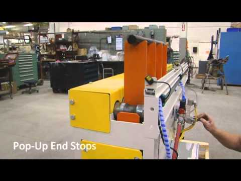 Omni Metalcraft Corp. CDLR Lift Feeding Gantry