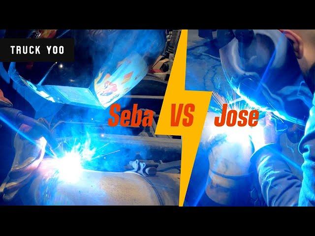 Welding challenge. Sebastian vs Jose.