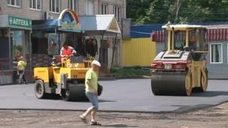 Благоустройство в Липицах: асфальтирование и новая детская площадка(, 2016-06-30T07:47:11.000Z)