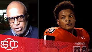 Jordan McNair's father feels 'sense of relief' after Maryland's firing of DJ Durkin | SportsCenter