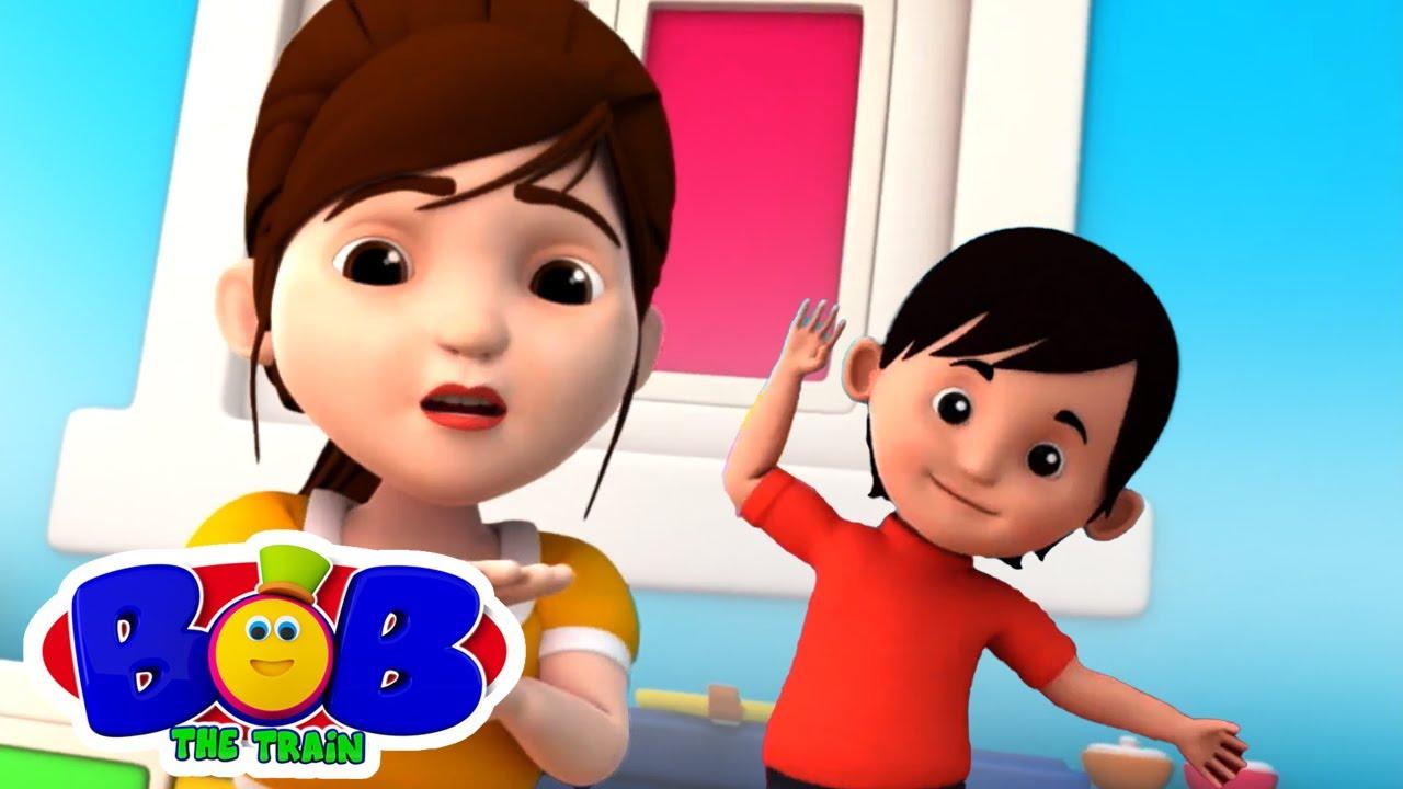 아니오 아니오 노래   아이들을위한 교육   애니메이션 동영상   Bob The Train Korea   보육 운율