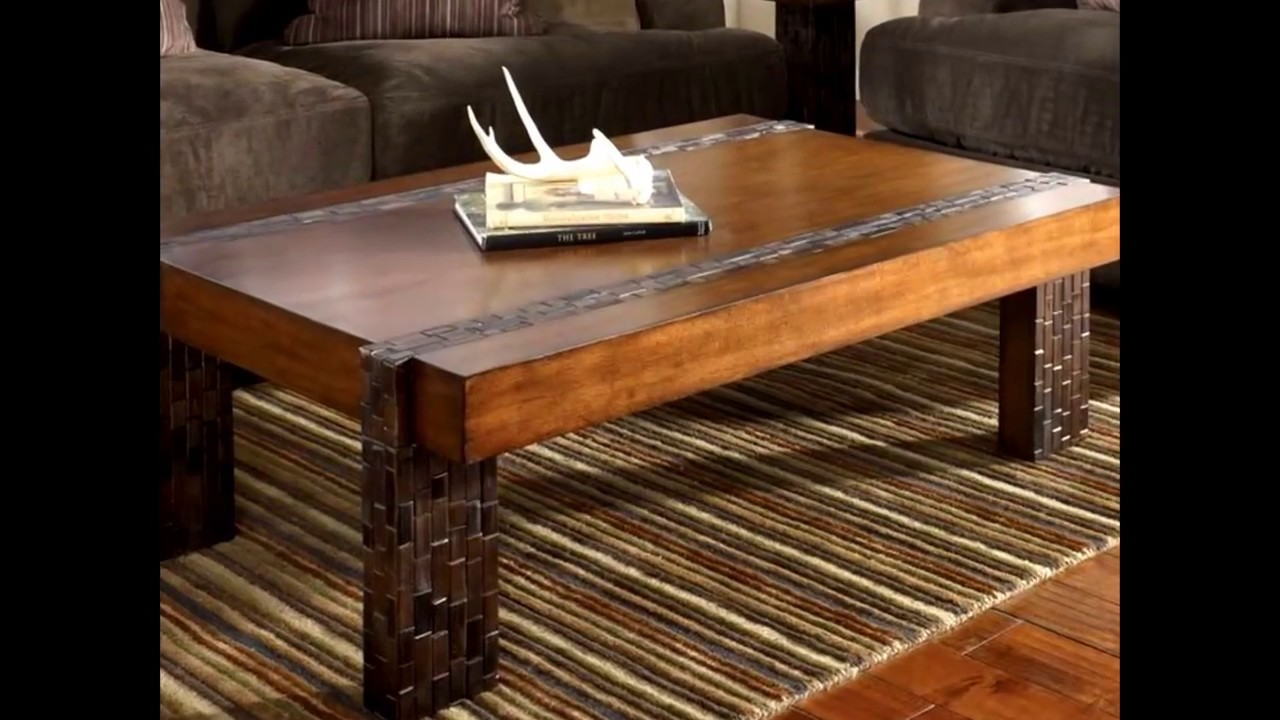 - Winsome Rustic Coffee Table Ideas - YouTube