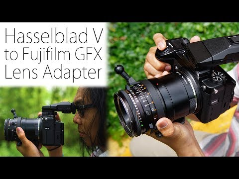 Hasselblad V To Fuji GFX 50S Lens Adapter: Classic Medium Format Lenses In The Digital Age