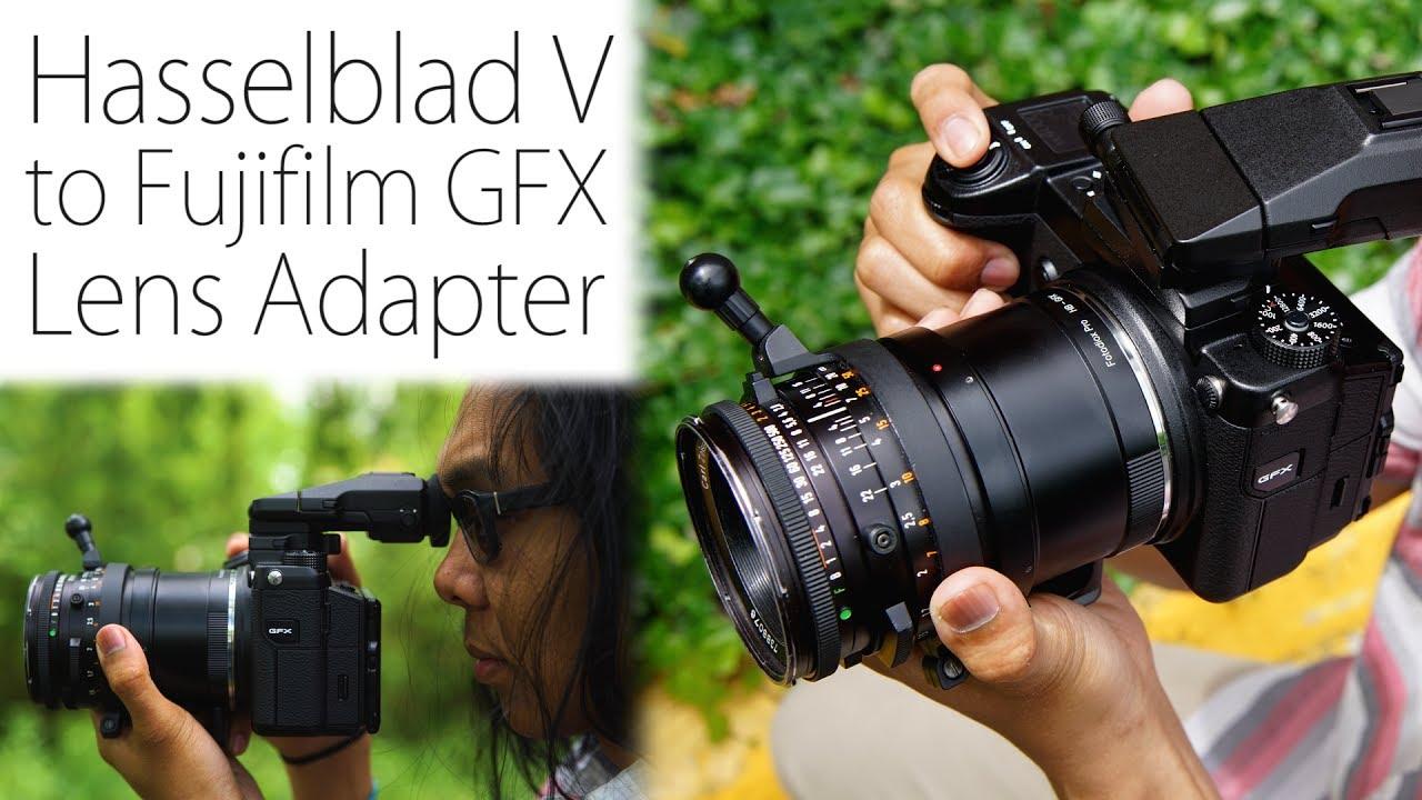 Medium Format Lens Kipon Mamiya 645 Mount To Fuji Gfx Camera Adapter