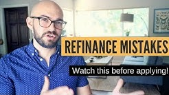Car refinance mistakes | DON'T MAKE THEM!