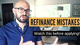 Car refinance mistakes | DON
