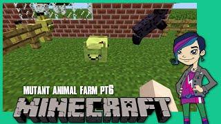 Minecraft Monday EP49 - Mutant Animal Farm PT6 - Introducing Squidney