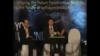 Panel Discussion at Accenture Software Shaping the Future Forum