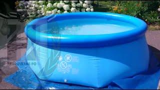 Бассейн INTEX easy set 2.44m x 76cm: Сборка - Результат(Сборка бассейна INTEX, 2,44m x 76cm. Видео на котором показана сборка бассейна с момента распаковки и до момента..., 2016-07-16T06:54:13.000Z)