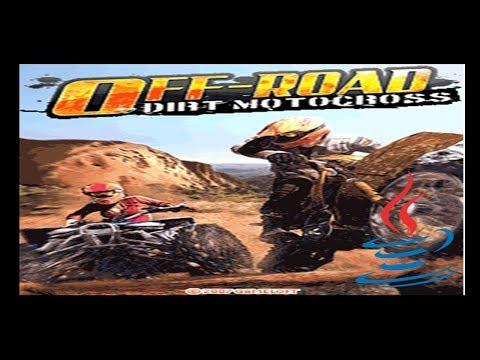 Off-Road Dirt Motocross - Mobile Java Gameplay