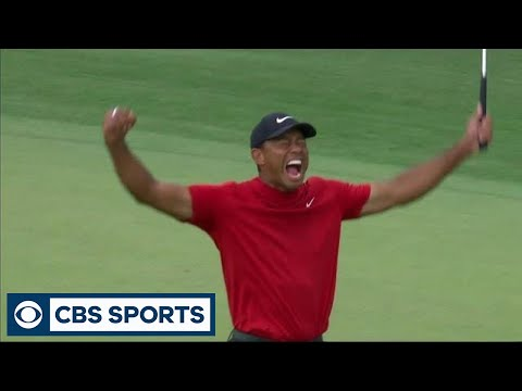 Carla Marie & Anthony - The Moment Tiger Woods Won the 2019 Masters
