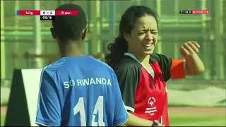 مباراة منتخب مصرVSمنتخب روندا لـ دورة الألعاب الأفريقية الأولى للأولمبياد الخاص برعاية الرئيس السيسي