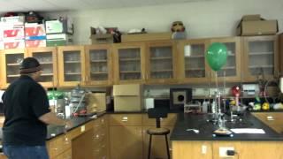 WTHS Astronomy Club Experiment - Hydrogen Balloon