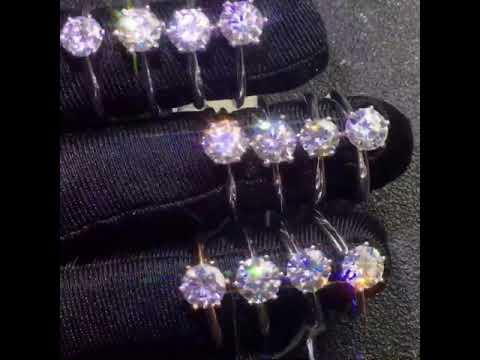 【莫桑鑽戒指】莫桑鑽戒指 摩星鑽 主石30分 D Color VVS1 附證書