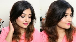 5 Minute Blowdry | Quick & Easy Hair Tutorial | corallista
