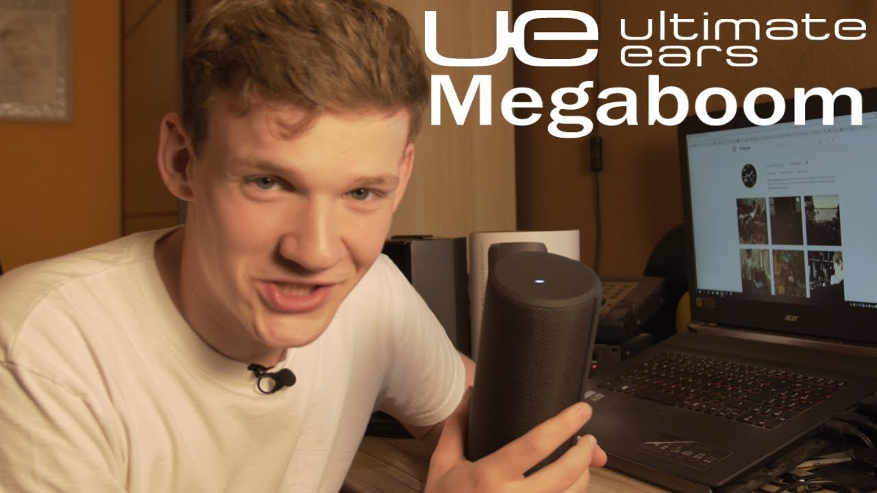 Ultimate Ears MEGABOOM Bluetooth Lautsprecher