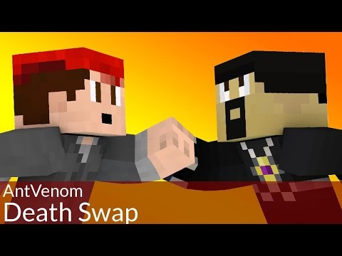 DEATH-SWAP with AntVenom in Minecraft