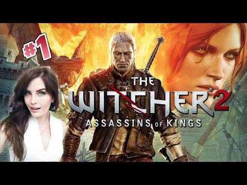 The Witcher 2 (Part 1) First time playing