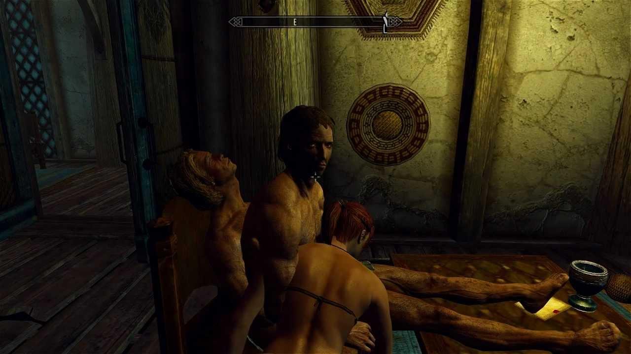 Видео с сексом из скайрима