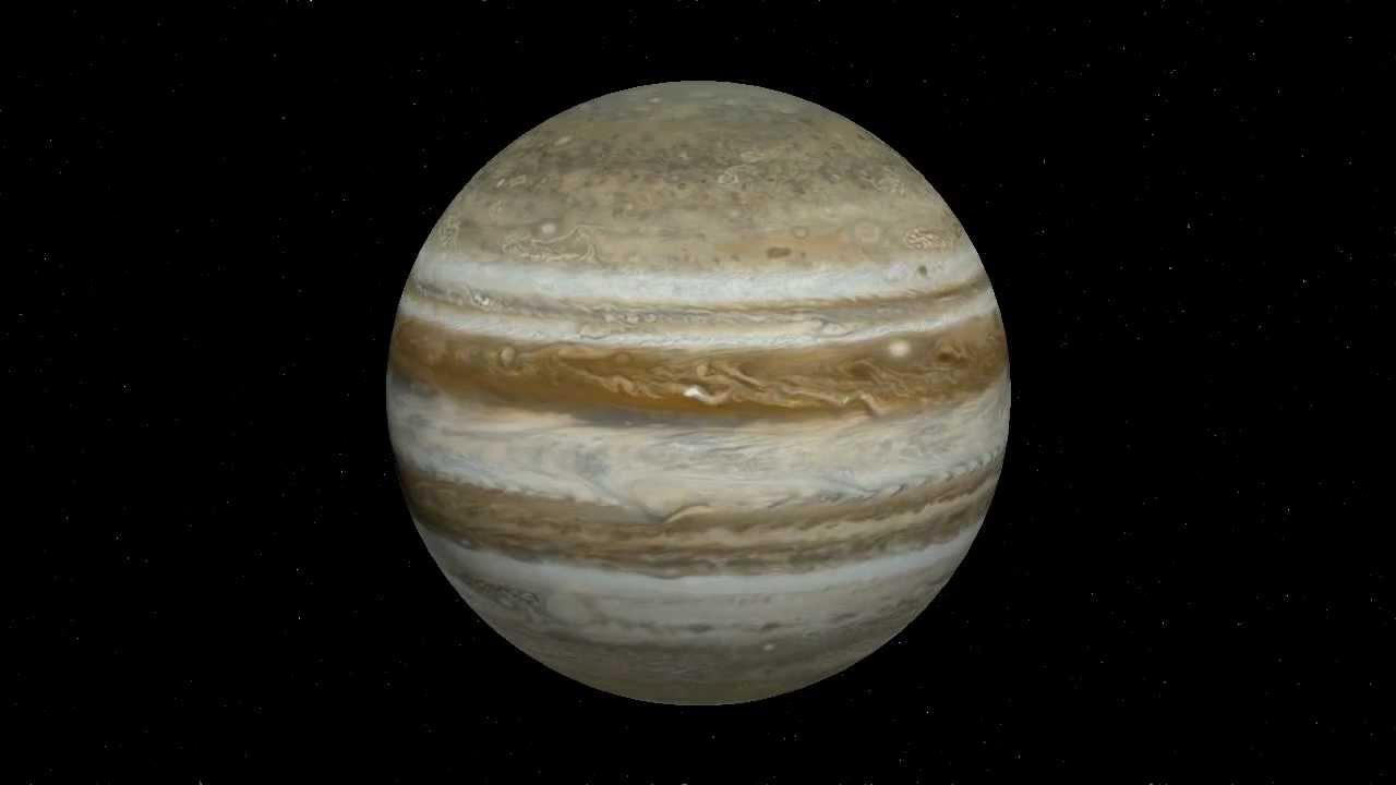 rotation of jupiter - 1280×720
