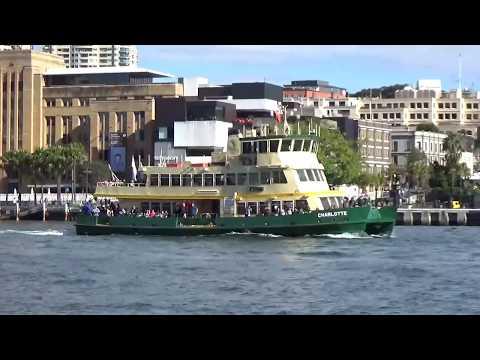 Ferry ride from Mosman to Circular Quay 16-7-2017