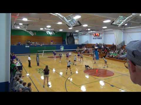 PND Volleyball vs Bloomington High School
