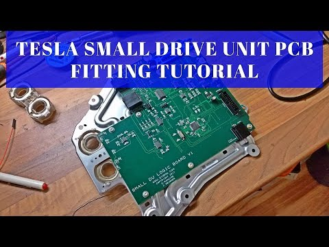 The Tesla Project : Small DU PCB Installation