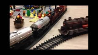 Игрушечные поезда и игрушки лего.(, 2016-09-05T20:26:33.000Z)