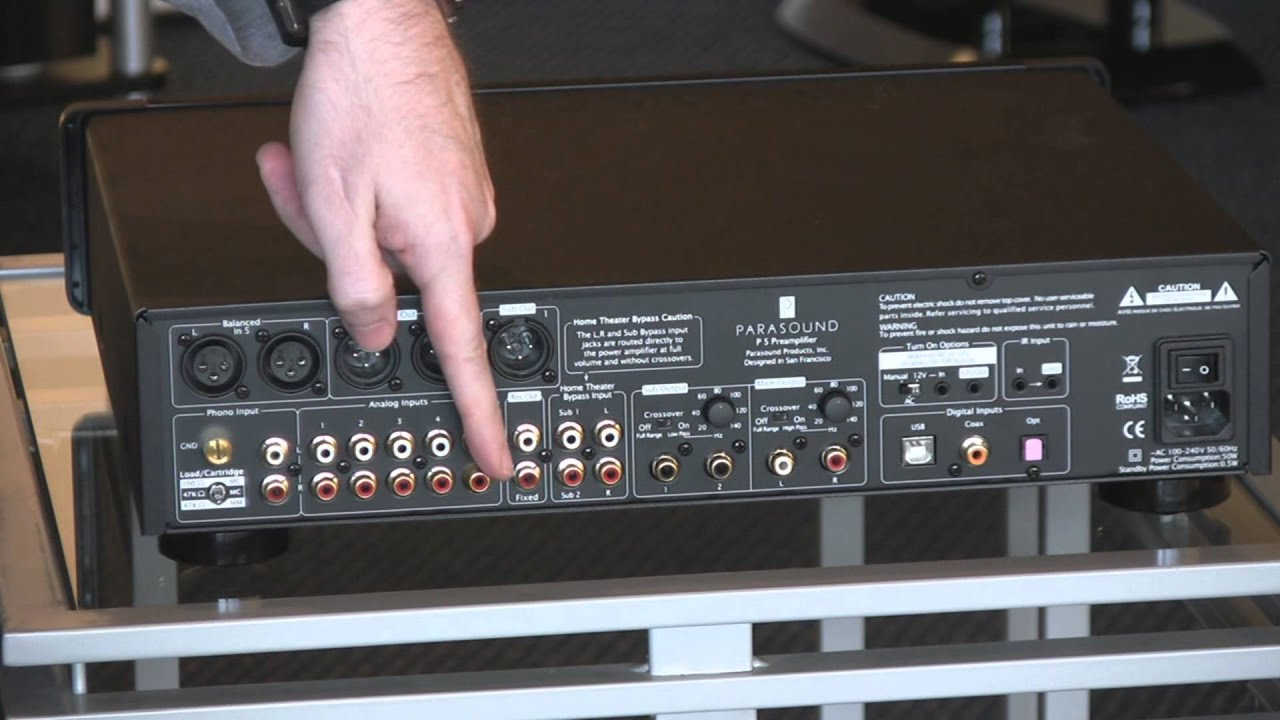 parasound halo p5 preamp review with clint the audio guy youtube. Black Bedroom Furniture Sets. Home Design Ideas