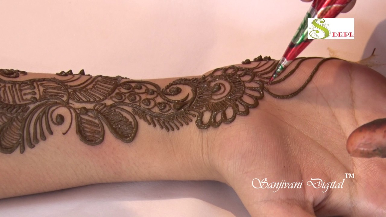 Mehndi design 2017 images - Latest Mehndi Designs 2017 Step By Step 126