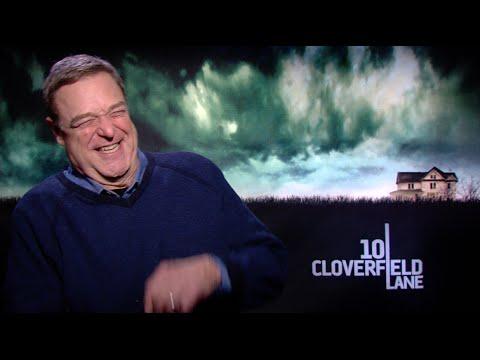 10 CLOVERFIELD LANE interviews - John Goodman, Mary Elizabeth Winstead, Gallagher Jr, Trachtenberg