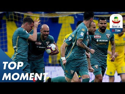 """Il """"Gallo"""" scores AGAIN   Frosinone 1-2 Torino   Top Moment   Serie A"""