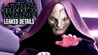 Star Wars Episode 9 Snoke's Big Secret! Leaked Details Revealed (Star Wars News)