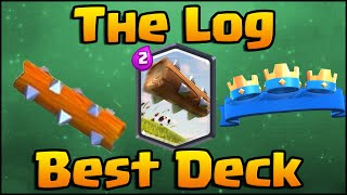 Clash Royale - The Log Deck and Strategy with Hog Rider and Prince!
