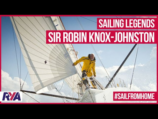 """At the time, no one thought it was possible"" Sir Robin Knox-Johnston - Sailing Legends"
