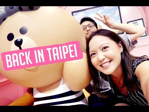 How To Spend First Day in Taipei, Taiwan! - Xinyi Shopping & Night Market!